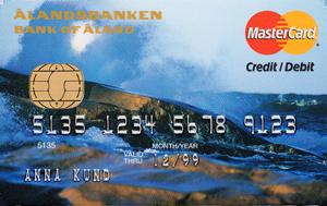 Ålandsbanken - ÅAB-Bankkort-Storm-SV-Credit kombikort