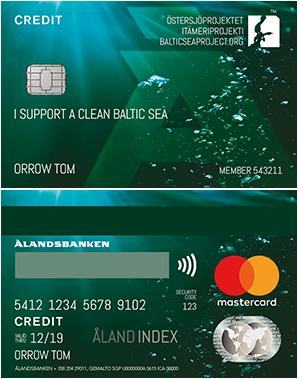 Ålandsbanken - Ostersjoprojektet Creditcard Finland
